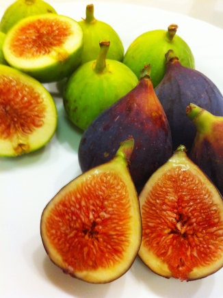 Fresh Green and Mission Figs