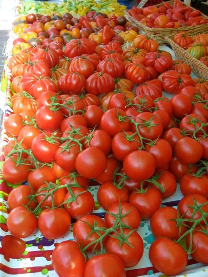 Marché aux Fleurs, Cours Saleya, Nice, France - July 2013