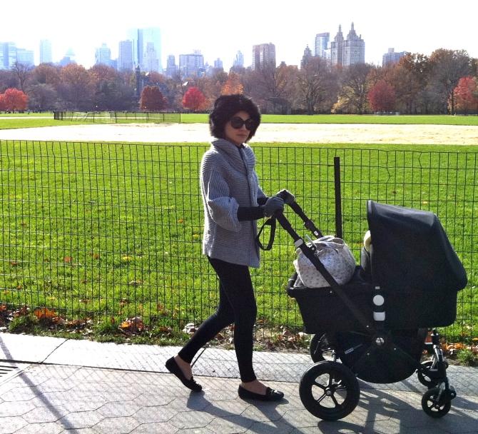 Central Park strolling