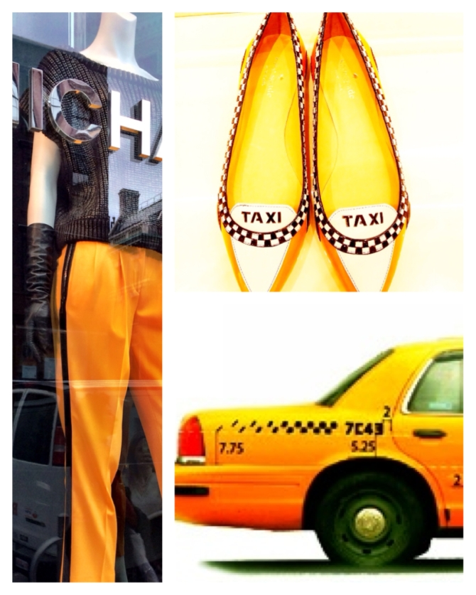 Taxi! With this outfit it's guaranteed you would find a cab ;) Left: Michael Kors, right: Kate Spade