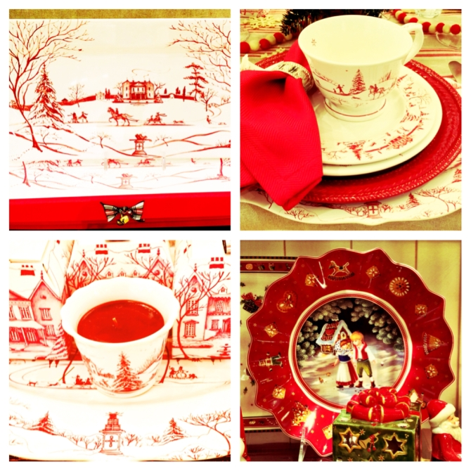 Christmas Dinnerware