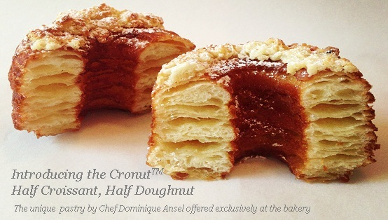 "While a Dominique Ansel Bakery in New York  created the first Cronut in the world, it might not contained trans fat due to the strict regulations of trans fat use in NYC, but that was undoubtedly replaced with a whole lot of saturated fat which is also a high cholesterol, high calorie harmful fat. Now with the Cronut becoming viral around the world, it could be packed with trans or saturated fat or both, but what is for sure is its crazy fat/sugar/calories contents, and that's why some call it a ""nutritional nightmare""!"