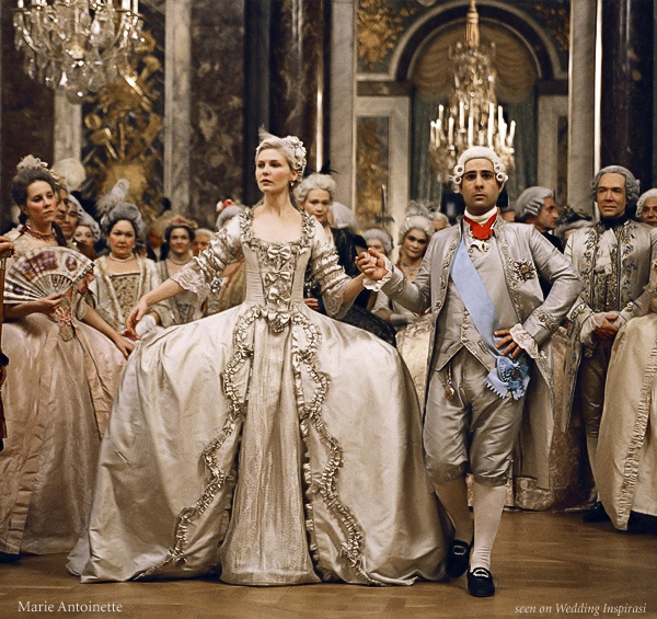 "From the movie ""Marie Antoinette"" - seen on Wedding Inspirasi"