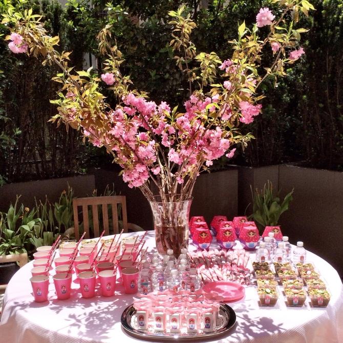 pink baby decor