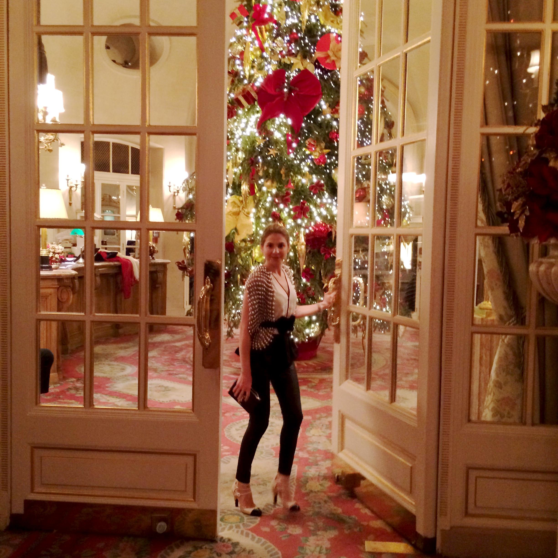 Christmas At The Ritz London.Christmas Season The Ritz Silhouettetiquette