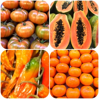 orange - boqueria